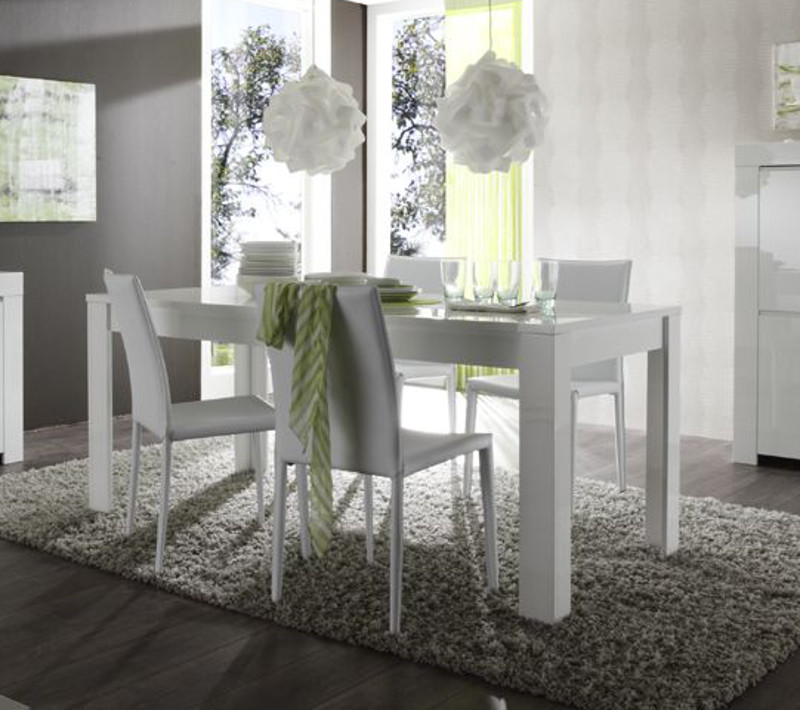 Tavolo da pranzo allungabile amalfi cucina sala salotto for Tavolo sala da pranzo bianco