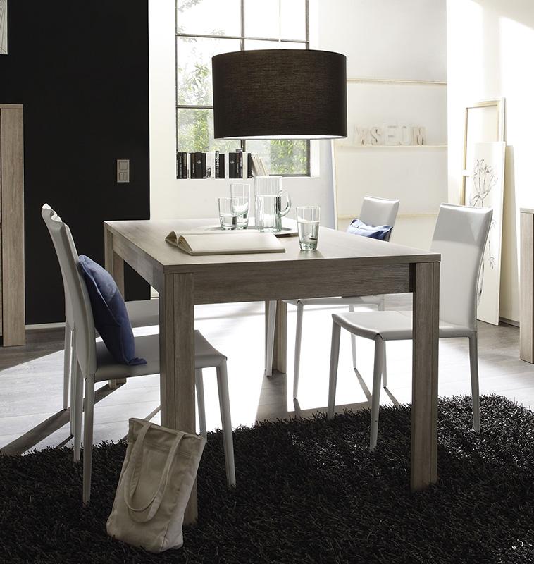 Cucina 160 Cm: Tavolo Moderno Da Salotto/cucina ELBA Fisso Da 180/160 Cm