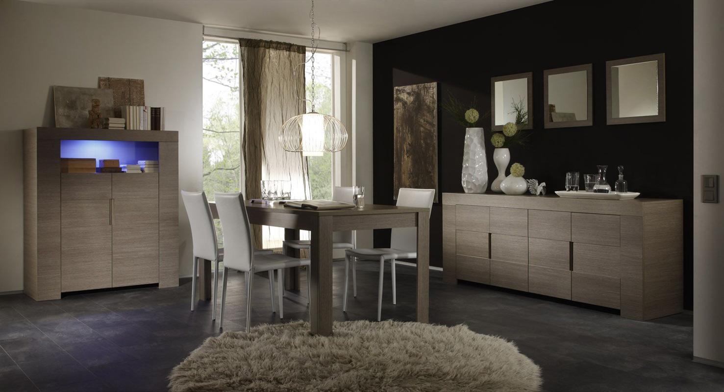 Tavolo moderno da salotto/cucina eos piana fissa da 180 o 160 cm ...