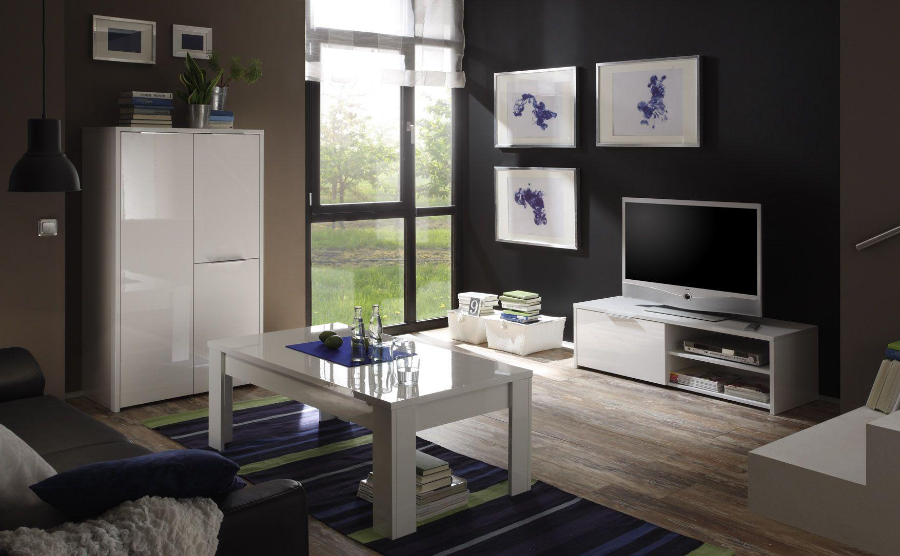Mobile porta tv moderno mod sorrento bianco laccato for Biesse arredamenti